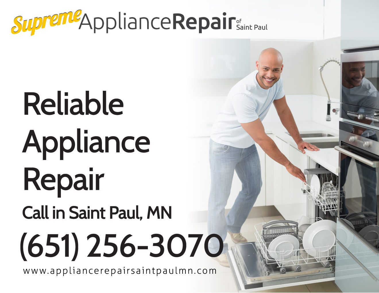 Supreme Appliance Repair Of Saint Paul 651 256 3070